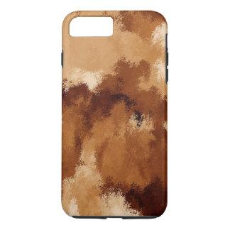 ブラウンのスエード iPhone 8 PLUS/7 PLUSケース