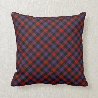 ブラウンのスコットランドの一族のタータンチェックの装飾用クッション クッション