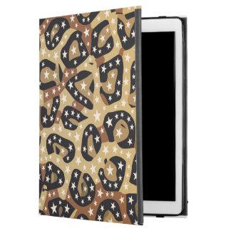 """ブラウンのチータのプリントはiPadのプロ場合を主演します iPad Pro 12.9"""" ケース"""