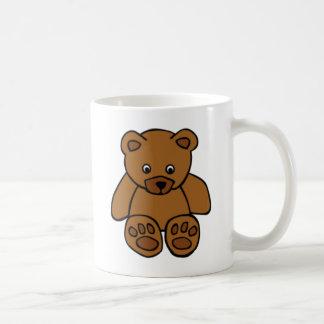 ブラウンのテディー・ベア コーヒーマグカップ