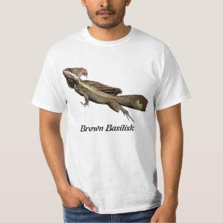ブラウンのバジリスク Tシャツ