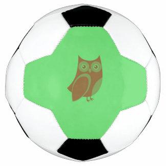 ブラウンのフクロウのサッカーボール サッカーボール