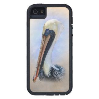 ブラウンのペリカン iPhone SE/5/5s ケース
