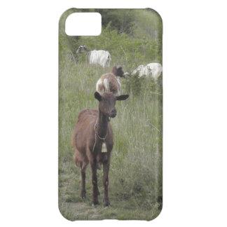 ブラウンのヤギ iPhone5Cケース