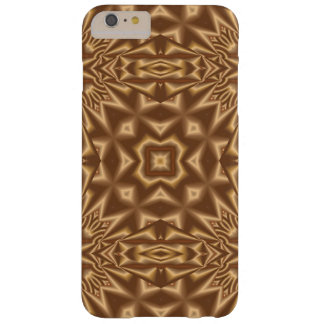 ブラウンの抽象的で粋なパターン BARELY THERE iPhone 6 PLUS ケース