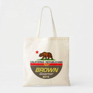 ブラウンの知事のバッグ トートバッグ