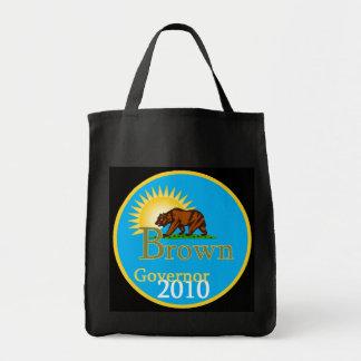 ブラウンの知事2010のバッグ トートバッグ