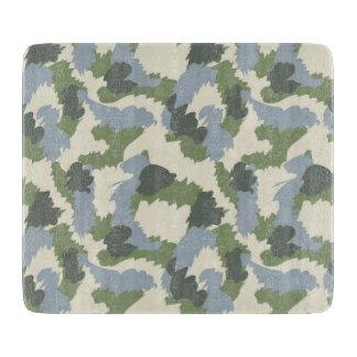 ブラウンの緑の灰色のカムフラージュ カッティングボード