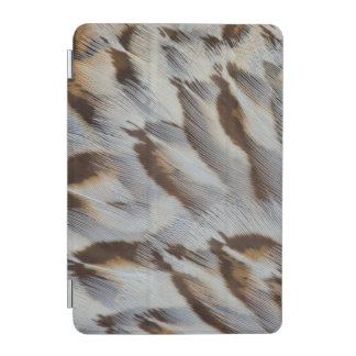 ブラウンの羽の抽象芸術 iPad MINIカバー