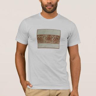 ブラウンの装飾用の地中海のなボーダー Tシャツ