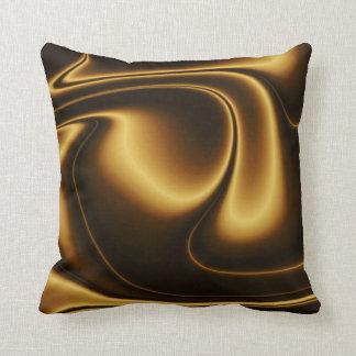 ブラウンの金枕 クッション