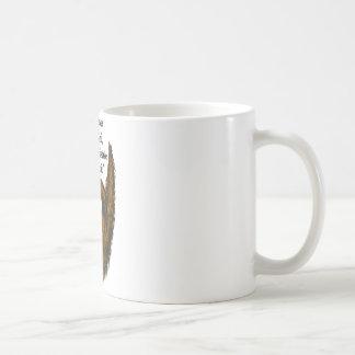 ブラウンの長いひげ コーヒーマグカップ