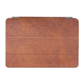 ブラウンの革 iPad MINIカバー