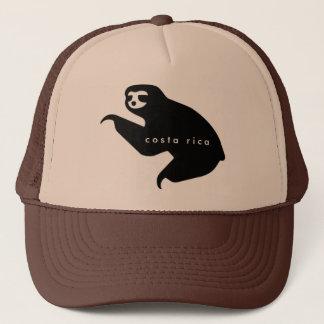 ブラウンコスタリカの怠惰の記念品の帽子 キャップ