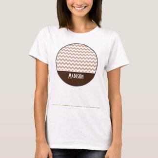 ブラウンシェブロン Tシャツ
