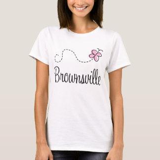 ブラウンズヴィルかわいらしいテキサス州のTシャツ Tシャツ