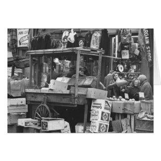 ブラウンズヴィルの市場、ブルックリン: 1962年 カード