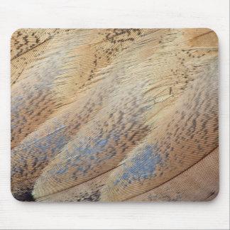 ブラウンセネガルのノガン科の抽象芸術 マウスパッド