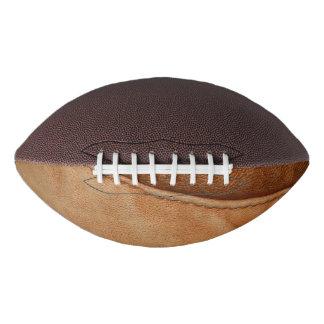 ブラウンタンのレザールックの質 アメリカンフットボール
