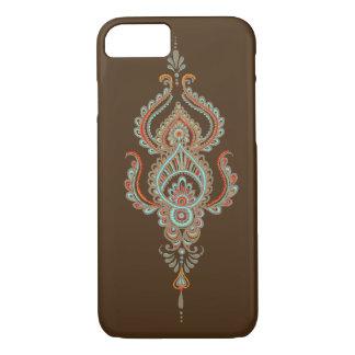 ブラウンペーズリーのiPhone 7の場合 iPhone 7ケース