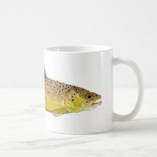 ブラウン・トラウトのマグ コーヒーマグカップ