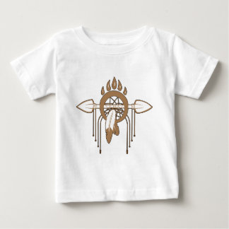 ブラウンDreamcatcher ベビーTシャツ