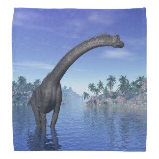 ブラキオサウルスの恐竜- 3Dは描写します バンダナ