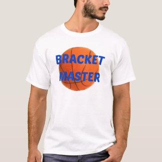 ブラケットのマスター Tシャツ