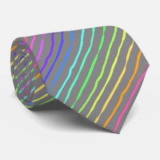 ブラシの打撃の虹のストライプのな銀製の両面 ネックウェアー