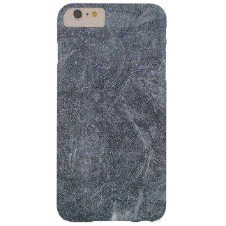 ブラシをかけられた灰色の石造りの花こう岩の質の背景 BARELY THERE iPhone 6 PLUS ケース