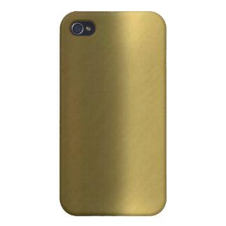 ブラシをかけられた青銅色の一見のIphone 4ケース iPhone 4 カバー