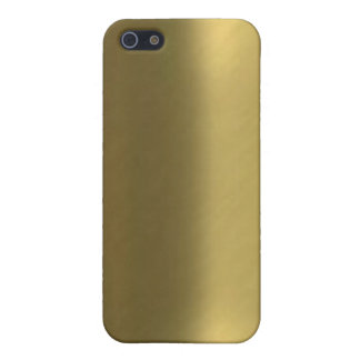 ブラシをかけられた青銅色の一見のIphone 4ケース iPhone 5 カバー