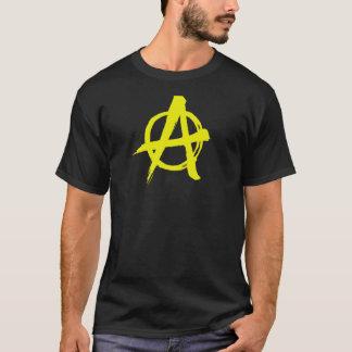 ブラシをかけられた黄色い無秩序 Tシャツ