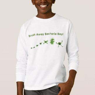"""""""ブラシ遠くにな""""の細菌のBoy®の子供のTシャツ Tシャツ"""