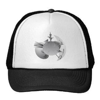ブラジリア都市スカイライン メッシュ帽子