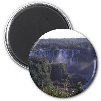 ブラジルおよびアルゼンチンのIguacuの滝 マグネット