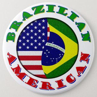 ブラジルのアメリカ人 缶バッジ