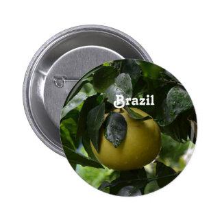 ブラジルのグレープフルーツ 5.7CM 丸型バッジ