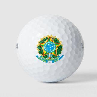 ブラジルのコートの腕 ゴルフボール