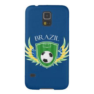 ブラジルのサッカーのSamsungの銀河系S5の箱 Galaxy S5 ケース