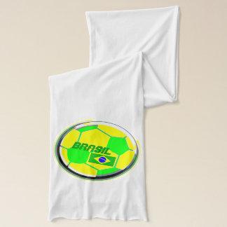 ブラジルのサッカーサポータ スカーフ