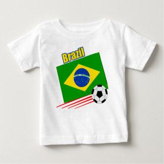 ブラジルのサッカーチーム ベビーTシャツ