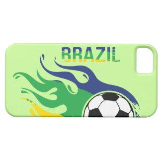 ブラジルのサッカーボール iPhone SE/5/5s ケース