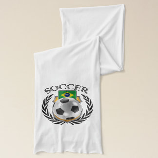 ブラジルのサッカー2016ファンのギア スカーフ