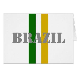ブラジルのサッカー カード