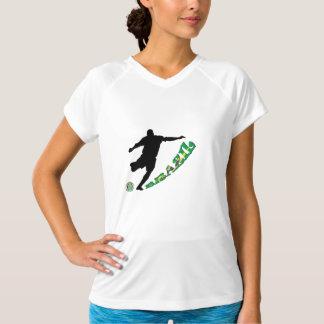 ブラジルのサッカー Tシャツ