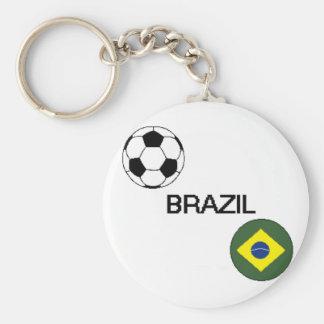 ブラジルのサッカーKeychain キーホルダー