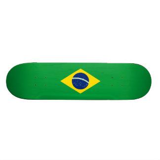 ブラジルのスケートボードのデッキの旗 18.7CM ミニスケートボードデッキ