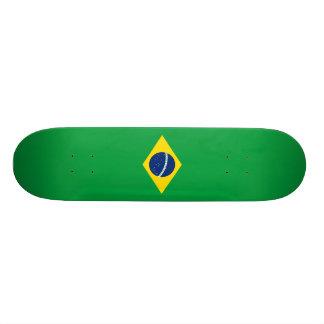 ブラジルのスケートボードの旗 スケートボードデッキ