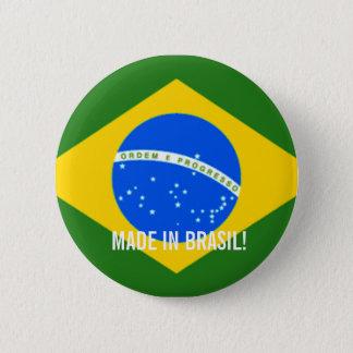 ブラジルのステッカーで作られる!! 缶バッジ